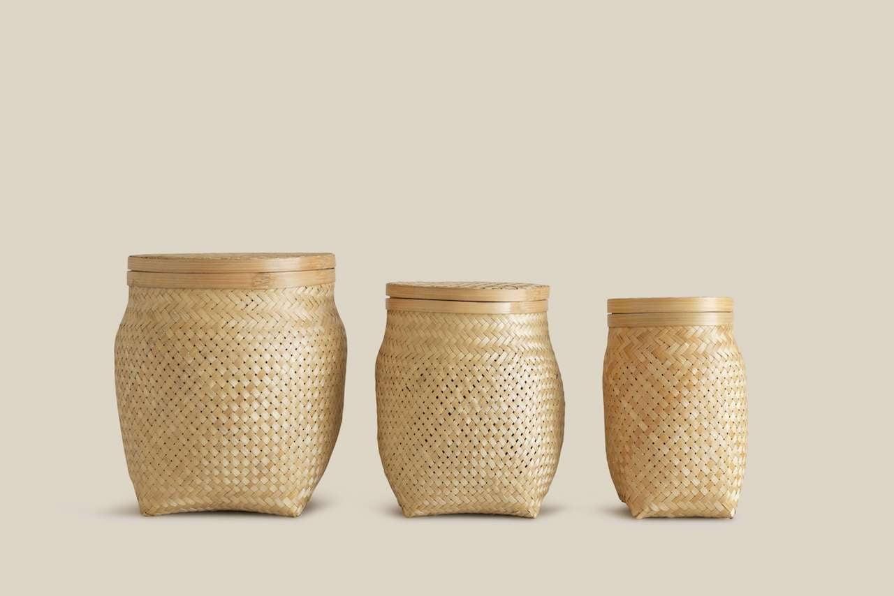 Malage Basket Natural M-5705