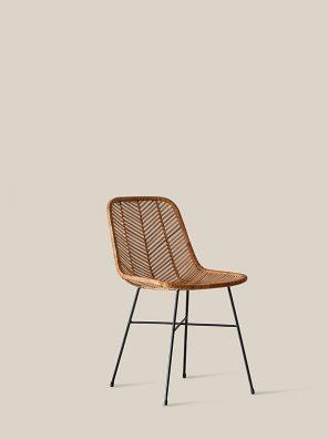 Santiago chair black legs