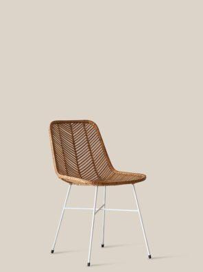 Santiago chair white legs