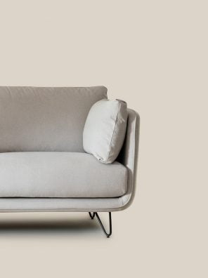 Munich Sofa Grey-6291