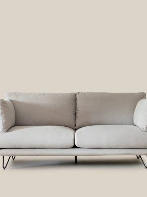 Munich Sofa Grey-6292
