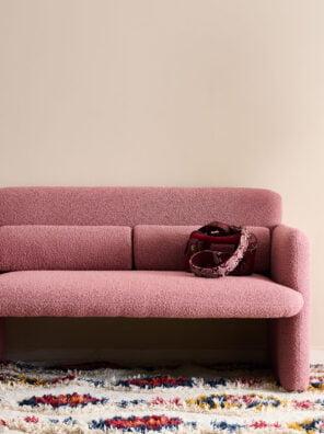 estelle old pink sofa